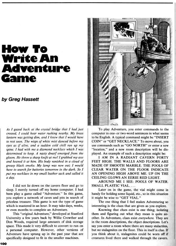 how to write interactive fiction