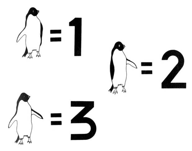 numbers, ride like a penguin,